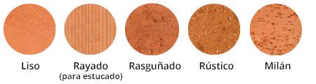 texturas ladrillos cerámica santiago