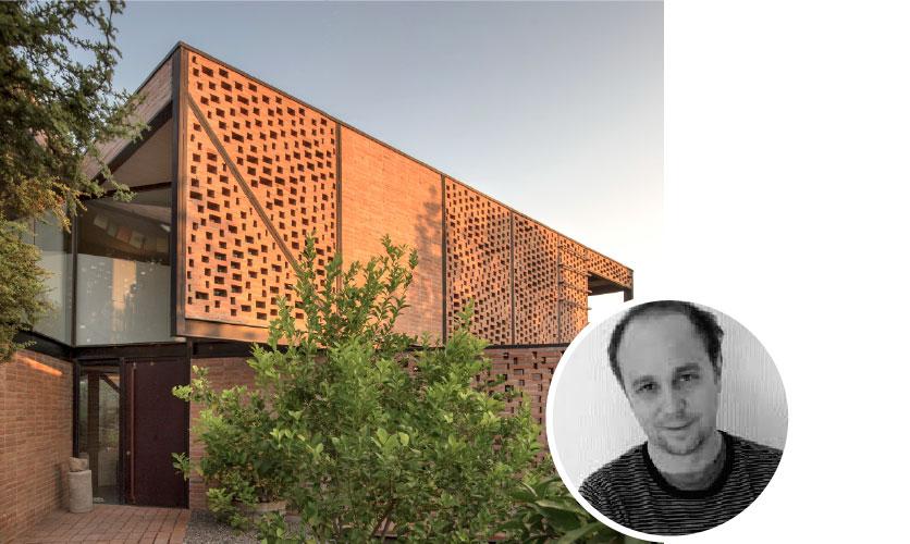 Juan Agustín Soza, autor de Casa M, ganador categoría Innovación en el Uso del Ladrillo.