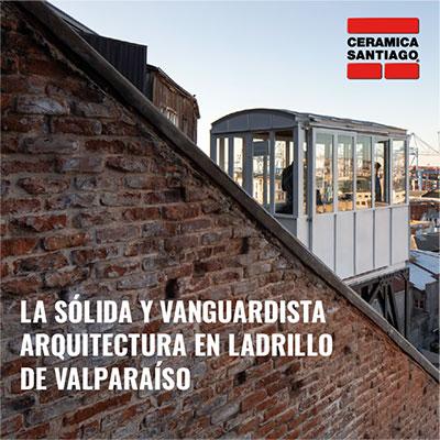 La sólida y vanguradista arquitectura en ladrillo